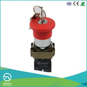 La110-B2-BS142 600V Pushbutton Rotary Key Switch UL pictures & photos