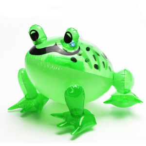 PVC or TPU Inflatable Baby Bath Frog Toy pictures & photos