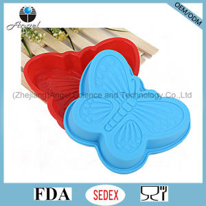 Wholesale Small Size Butterfly Silicone Muffin Cake Pan Sc59 pictures & photos