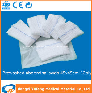 Prewashed & Non-Washed Medical Abdominal Swab pictures & photos