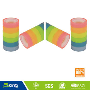 Various Color Plastic Core BOPP Stationery Gem Tape pictures & photos
