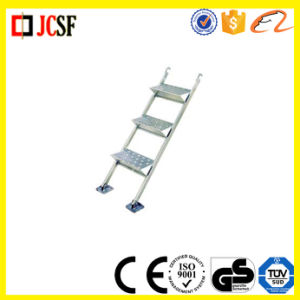 Frame Scaffold Aluminum Stairways Scaffolding Stairs with Hook in Construction pictures & photos