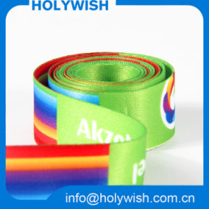 Custom Design Dye Sublimation Ribbon with Double Printing pictures & photos