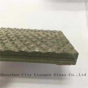 10mm+Silk+5mm Laminated Float Glass/Art Glass/Tempered Glass/Safety Glass for Decoration pictures & photos