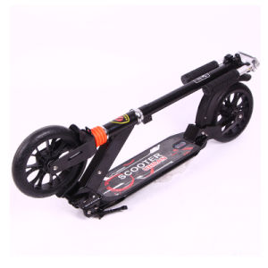 200mm PU Wheels Foldable Foot Stunt Kick Street Dirt Scooter (SZKS007) pictures & photos