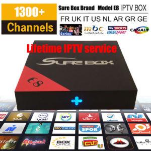 Qhdtv Android TV Box Arabic IPTV Turkey TV Kodi 17.1 4K Video E8 TV Box Good Than X96 pictures & photos