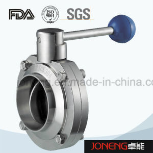Stainless Steel Sanitary Welded/Bend Butterfly Valve (JN-BV1013) pictures & photos