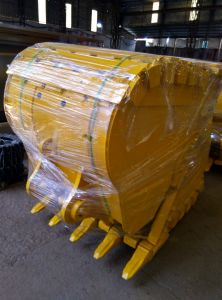 Caterpillar Komatsu Volvo Excavator Spare Parts Standard Heavy Duty Rock Bucket pictures & photos