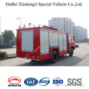 3tons Dongfeng 153 Dry Powder Fire Truck Euro3 pictures & photos