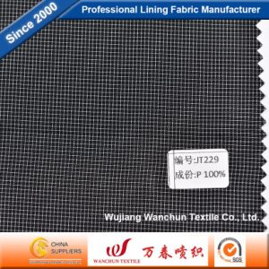 High Quality Polyester Dobby Fabric for Garment Lining Jt229 pictures & photos