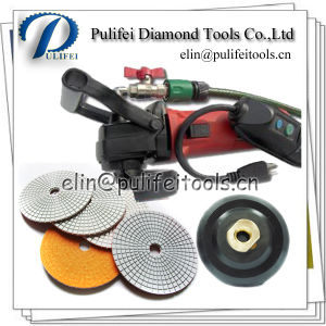 Wet Dry Diamond Abrasive Concrete Marble Stone Granite Polishing Pad pictures & photos