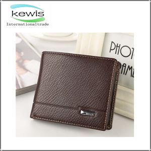 Short Style Leather Business Men Wallet pictures & photos