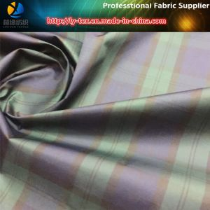 High Density Polyester Yarn Dyed Fabric, Popular Check in Japan pictures & photos