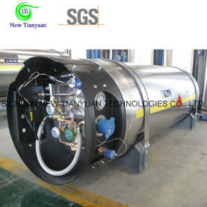 Heat Insulated Cryogenic Stainless Steel LNG Cylinder pictures & photos