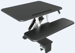 "Loctek 26"" Wide Platform Height Adjustable Standing Desk Riser, Sit-Stand Workstation, Black (MT103S) pictures & photos"