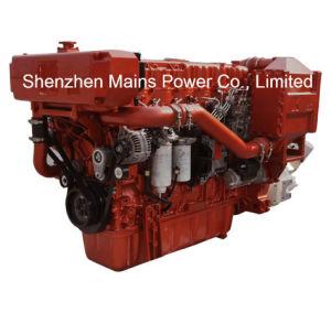600HP 2100rpm Passenger Ship Merchant Ship Yuchai Marine Diesel Engine pictures & photos