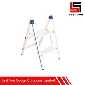 Two Tread Aluminium Ladder Portable Ladder pictures & photos