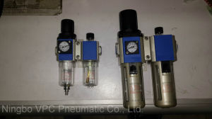 V Series Air Source Treatment Unit with Air Gauge Inside pictures & photos