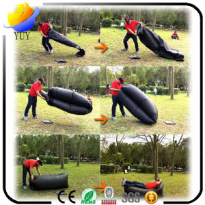Outdoor Portable Sleeping Bag Folding Air Sofa Bed Lazy Sofa pictures & photos