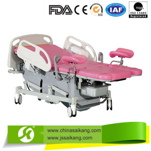 Gynecological Obstetric Delivery Table pictures & photos