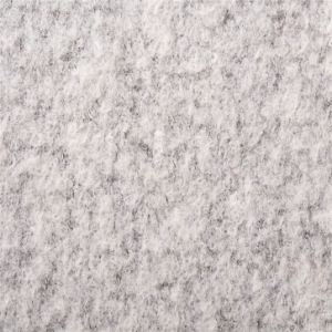 Compound Flower, Wool/ Polyester Fabric in Light Gray pictures & photos