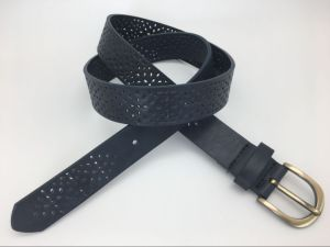 New Fashion Cut out Design Belt for Ladies (YF-065 Navy)