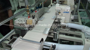 Mattress Border Double Overlocking and Quilting Machine pictures & photos