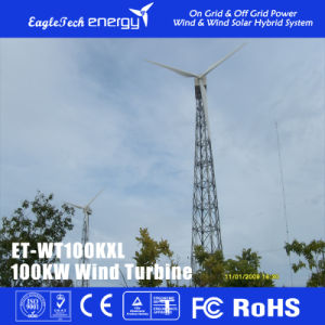 100kw Big Power Wind Turbine Wind System Wind Generator