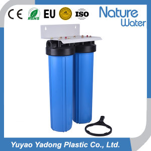 20 Inch Double Big Blue Water Filter for Whole House pictures & photos