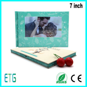 7 Inch HD Wedding Invitation Cards pictures & photos