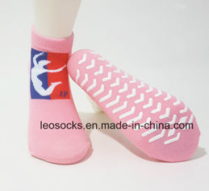 Colorful Customized Anti-Slip Breathable Trampoline Socks pictures & photos