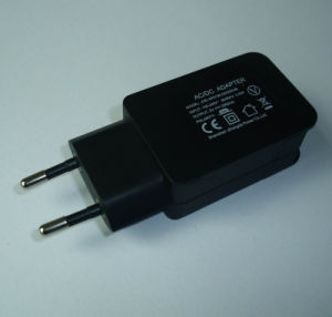 EU Plug 5V2a USB Mobile Phone Charger pictures & photos