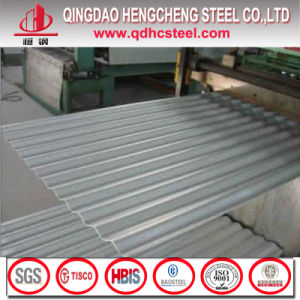 Zinc Aluminum Coated Metal Roof Corrugated Sheet pictures & photos