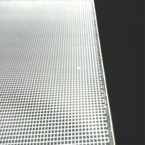 Engraved Light Guide Panel for LED Edge-Lit Light Box (LGPS2)