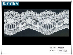 Factory Price Jacquard Lace White Trimming Lace for Bra pictures & photos