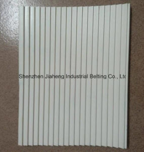 Saw Tooth PVC Conveyor Belt Thickness 5.0mm White Food Grade