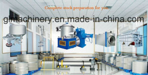 15 T/D Waste Paper Repulping Recycle Paper Stock Preparation Line pictures & photos