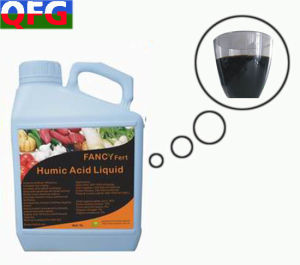 100% Water Soluble Organic Humic Acid Liquid Fertilizer From Leonardite pictures & photos