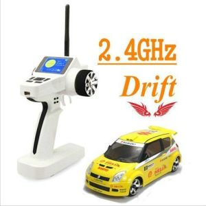 Ready to Run 4WD RC Drift Car with Yellow Color