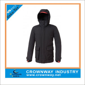 Custom Winter Hooded Parka Jacket for Men pictures & photos
