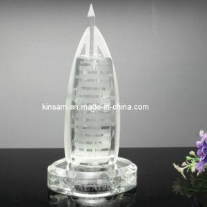 Crystal Burj-Al-Arab Crystal Building Model Souvenir Gift pictures & photos