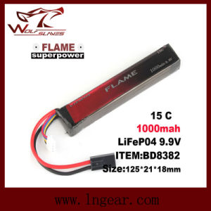 Flame 9.9V-1000 15c LiFePO4 LFP Stick Battery pictures & photos