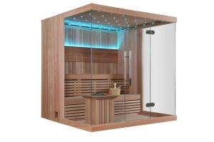 Monalisa Dry Sauna with Imported Wood for Sale M-6042 pictures & photos