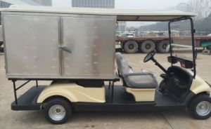 CE Approved Battery Operated Insulated Truck for Resort Catering Van pictures & photos