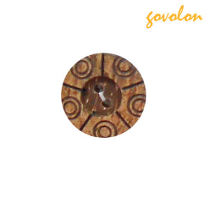 2 Holes Wood Button/Snap Button/Polyester Button pictures & photos