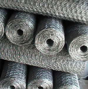 Low Carbon Steel Wire Hexagonal Mesh pictures & photos