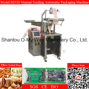 Manual Discharge Automatic Vertical Bucket Chain Packaging Machine pictures & photos