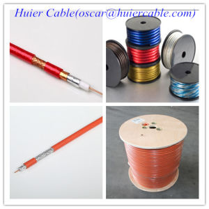 100% Pure Copper RG6 Coaxial Cable pictures & photos