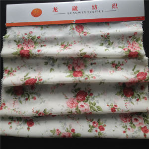 Printed Silk Cdc in Flower Pattern pictures & photos