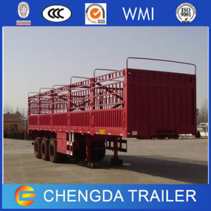China Supplier 3 Axle Size Optational Box Cargo Semi Trailer pictures & photos